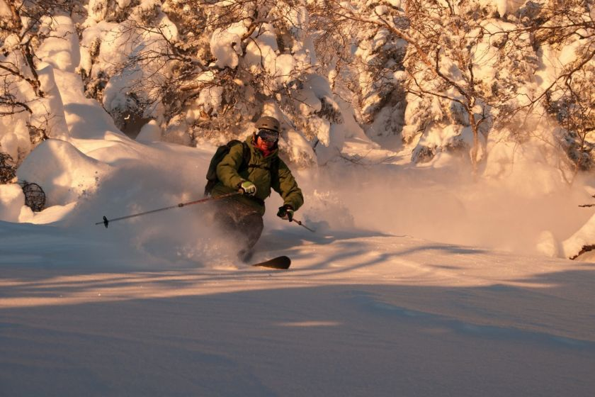 Skier at Jay Peak Resort. (Jay Peak Photo)