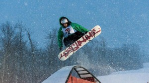 Stratton's Village Rail Jam on November 30