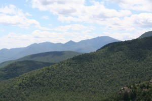Dix Range as seen from Bald Peak.