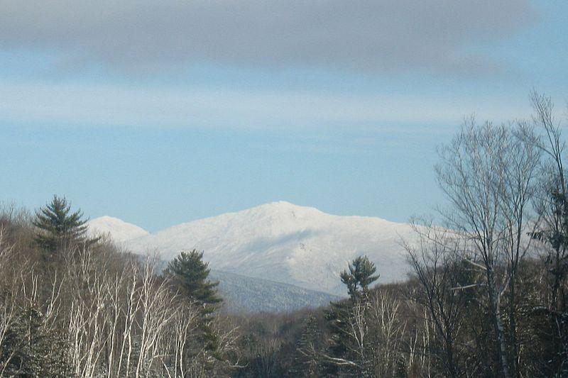 Mount Jefferson in winter.