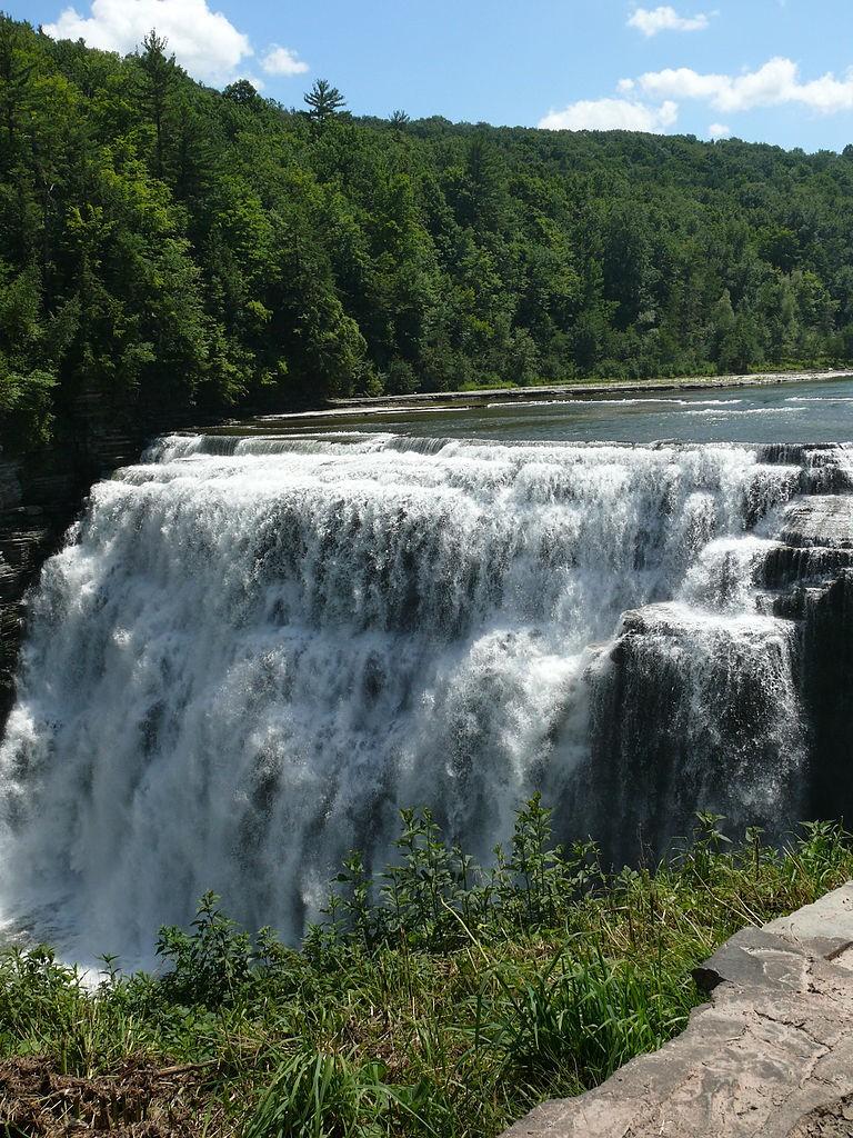 Letchworth 3 middle falls