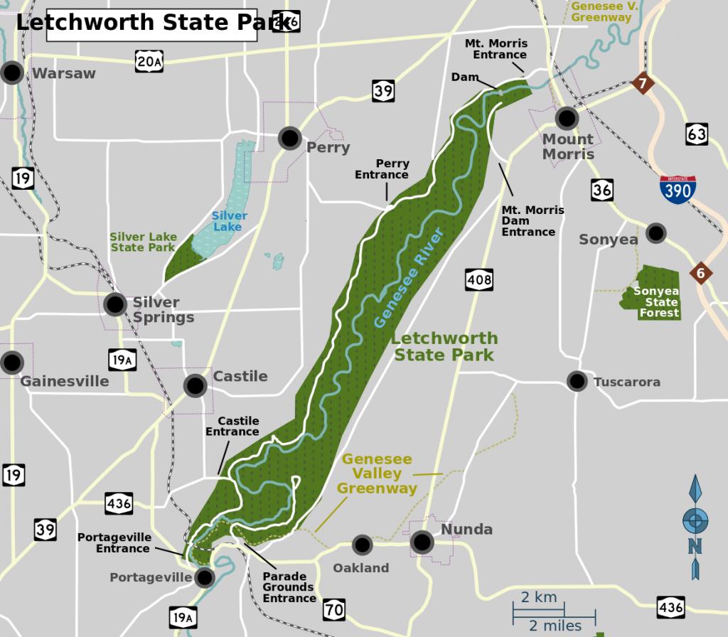 Letchworth 4 map