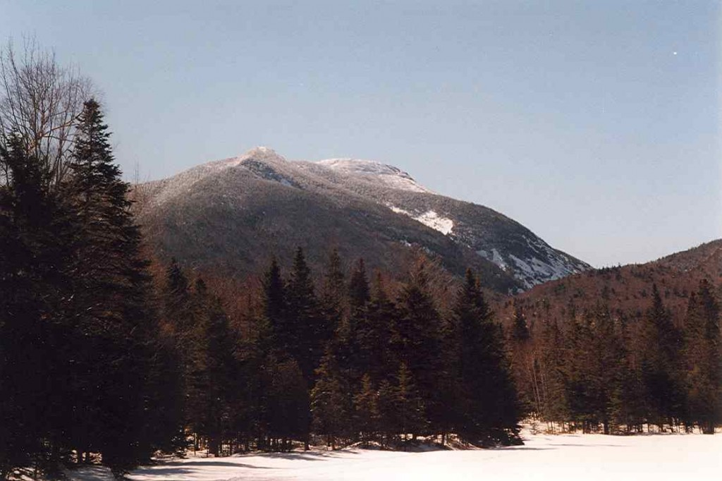 Mount Colden in the High Peaks Region as seen from Marcy Dam. (Wikimedia Photo)