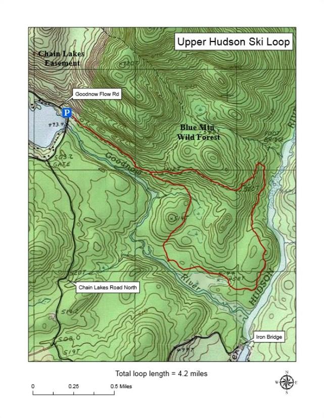Ski Trail Map (2)