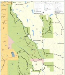 North Woods Map