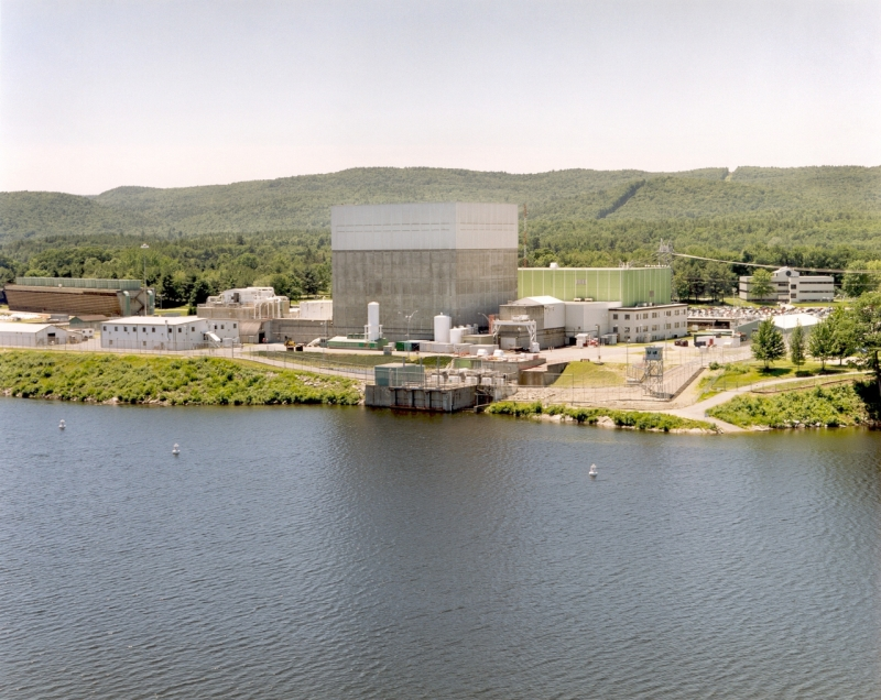 The Vermont Yankee nuclear plant.