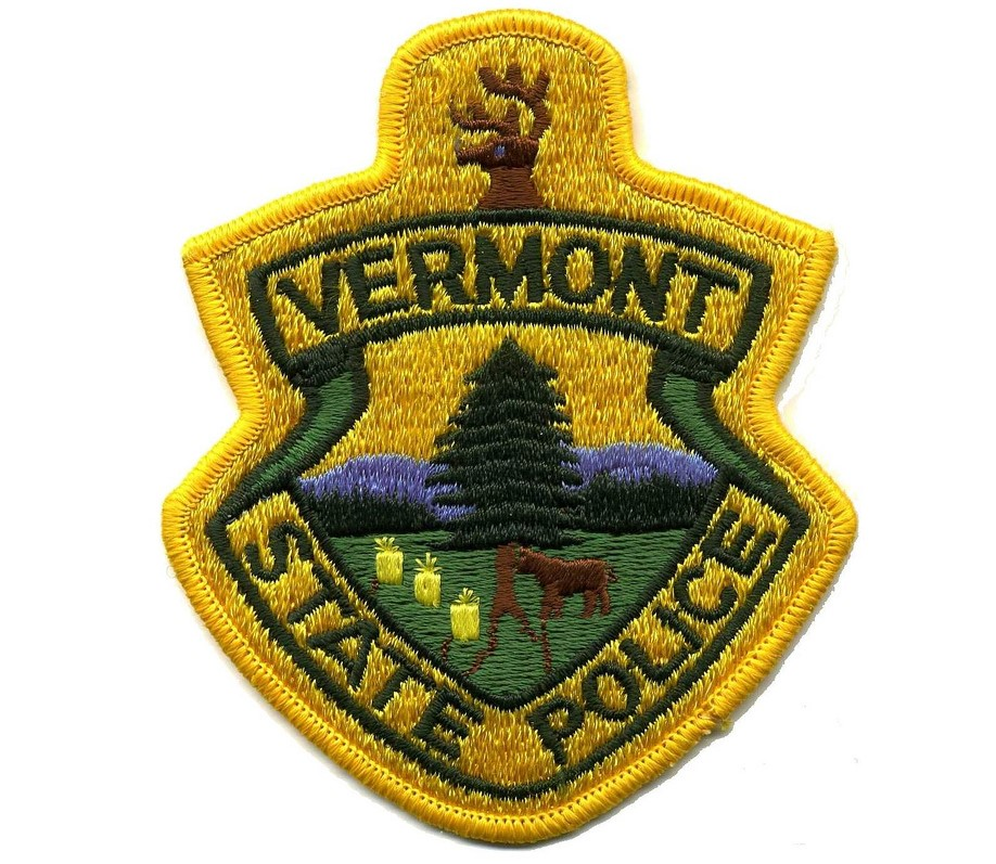 Vermont state police patch (2)