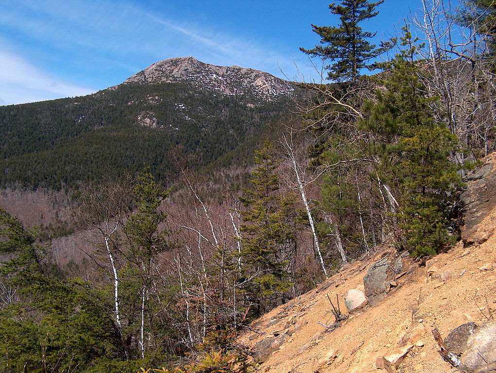 New Hampshire's Mount Chocorua, as seen from Carter Ledge.