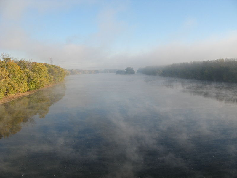 Connecticut River mist