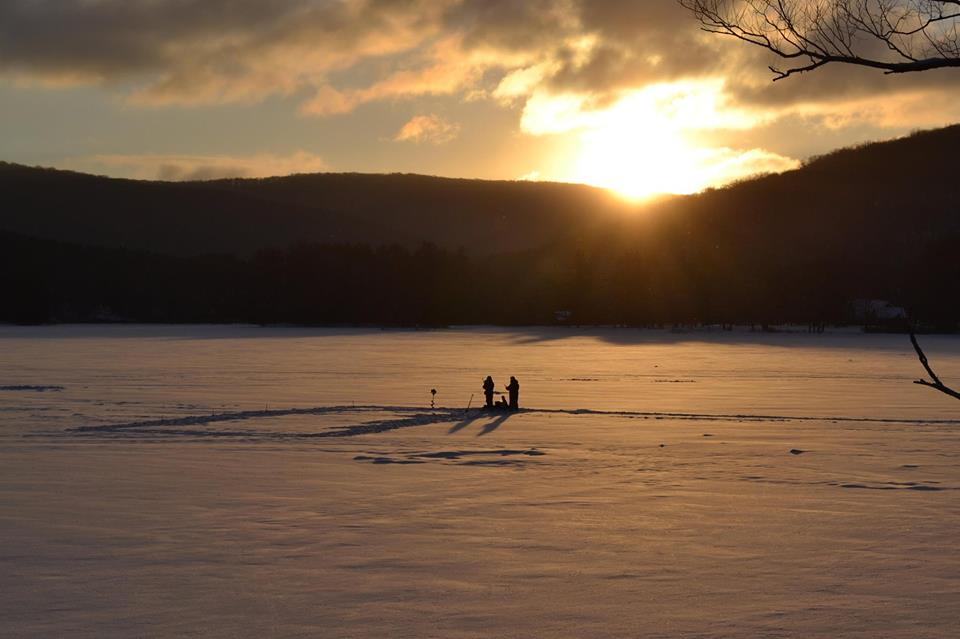 Red House Lake in New York's Allegany State Park (New York State Parks Photo)
