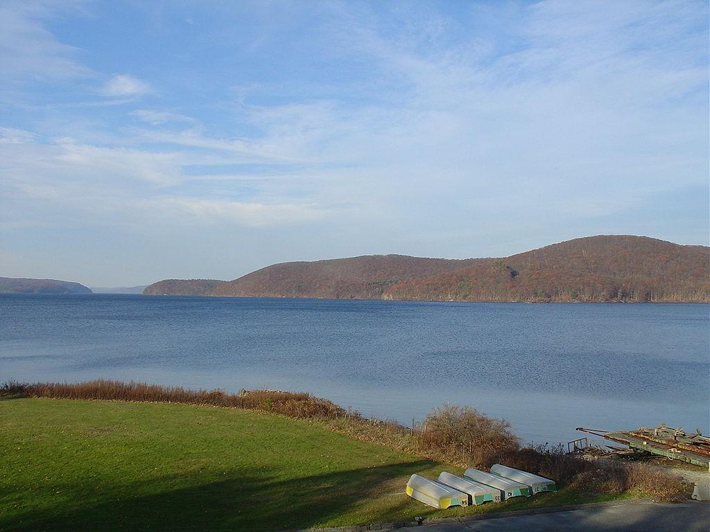 The Quabbin Reservoir - minus the current snowy conditions.