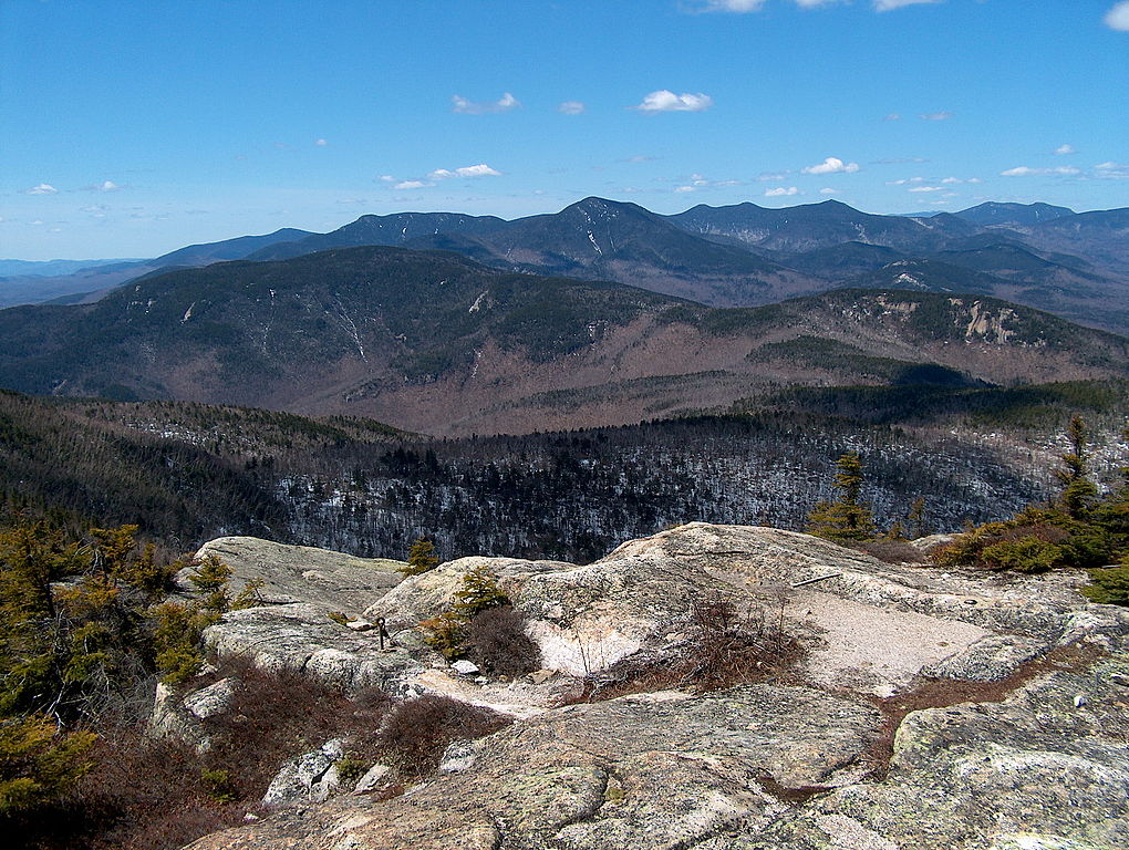 The Sandwich Range in New Hampshire's White Mountains.