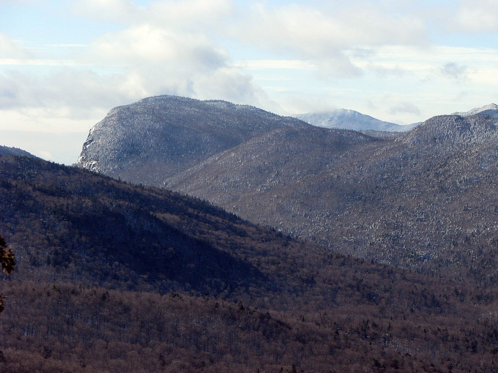 Wallface Mountain as seen from Mount Jo.