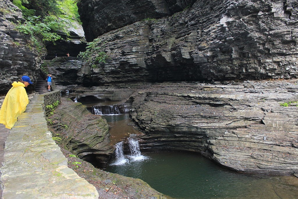 New York's Watkins Glen State Park.