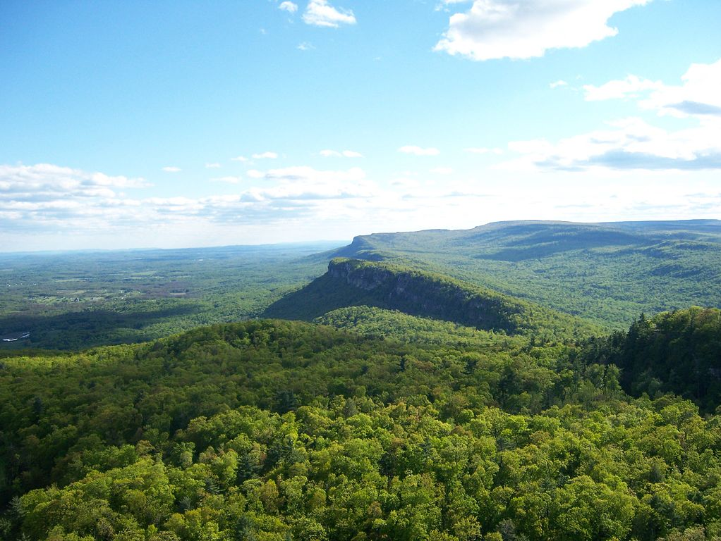 The Shawangunk Ridge. (Wikimedia Photo)