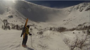 A spring skiing adventure on Mount Washington
