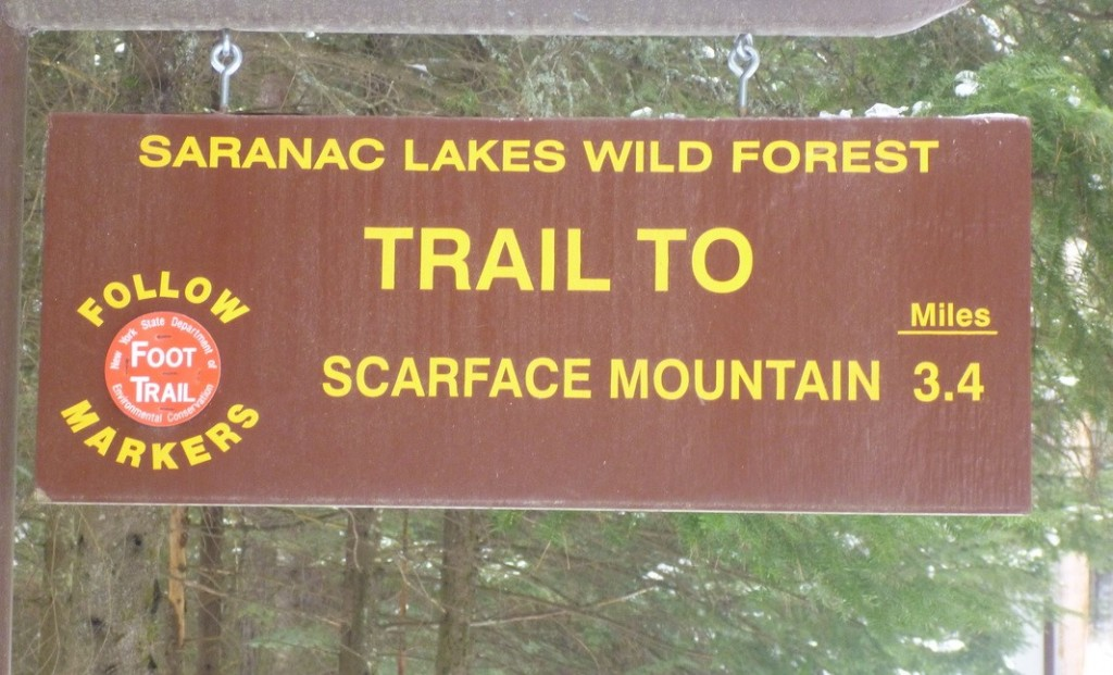 scarface mountain sign