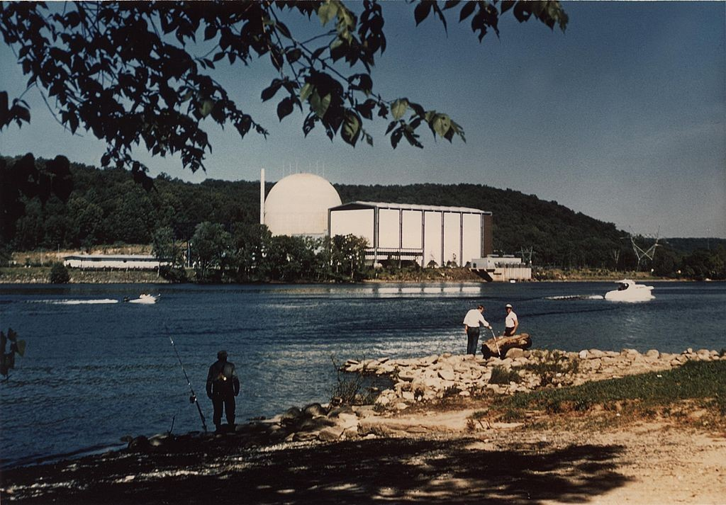 The Connecticut Yankee nuclear power plant in Haddam, Connecticut. (Wikimedia Photo)