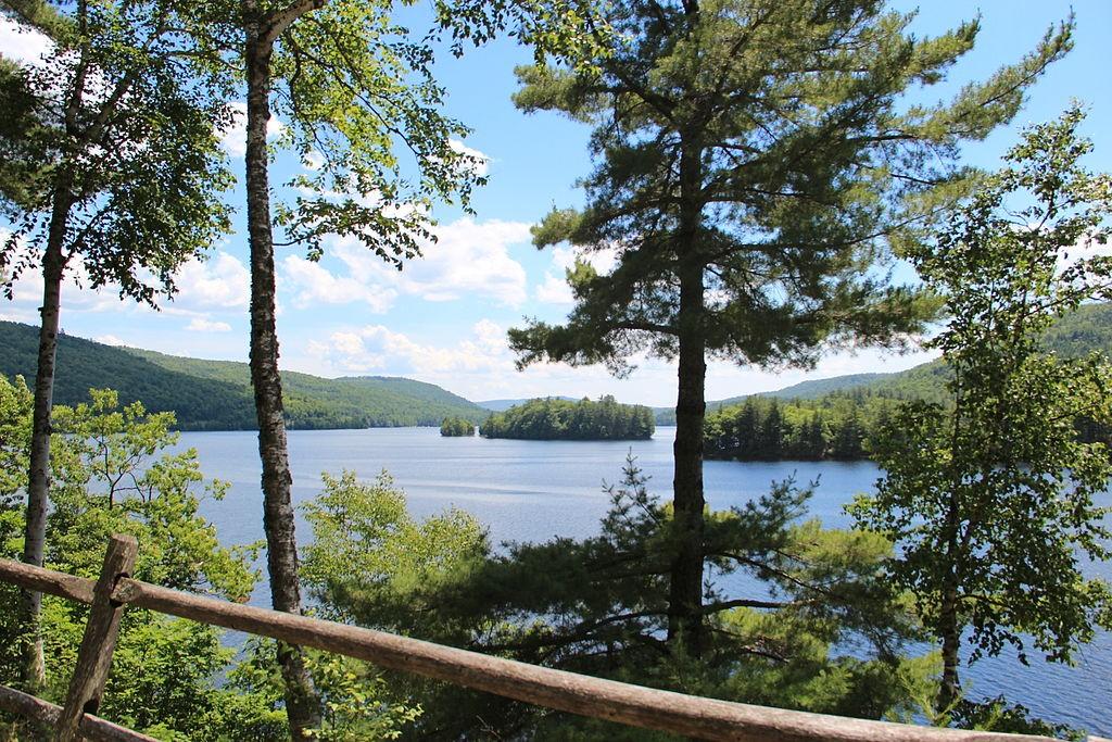 Wyman Lake along Maine's Kennebec River. (Wikimedia Photo)