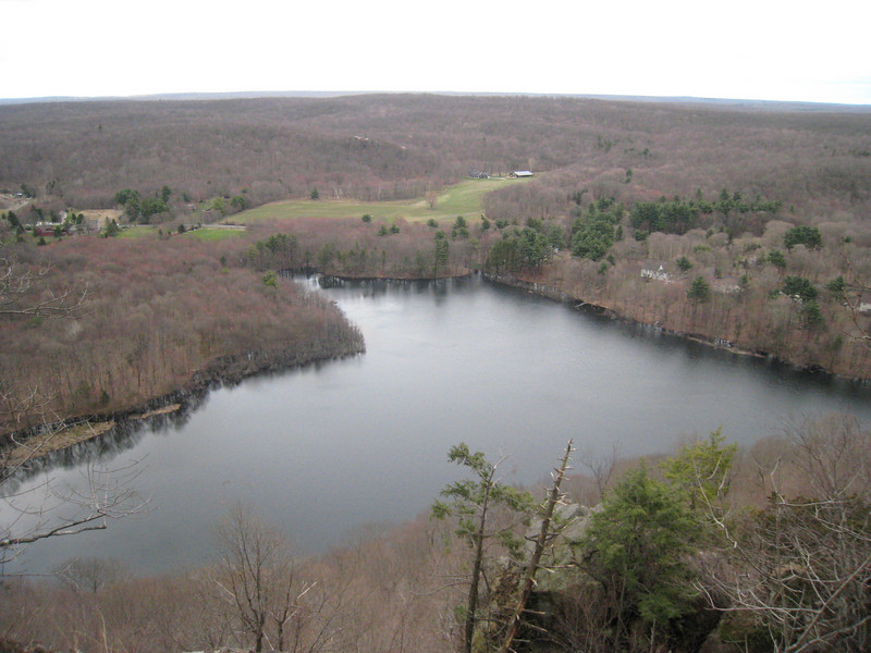 The view from Bluff Head. (Guilford Land Conservation Trust Photo)