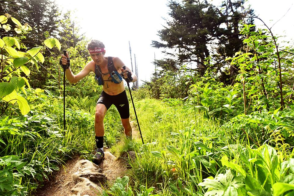 Scott Jurek in Great Smoky Mountain National Park. (Luis Escobar Photo; Facebook.com/Scott Jurek
