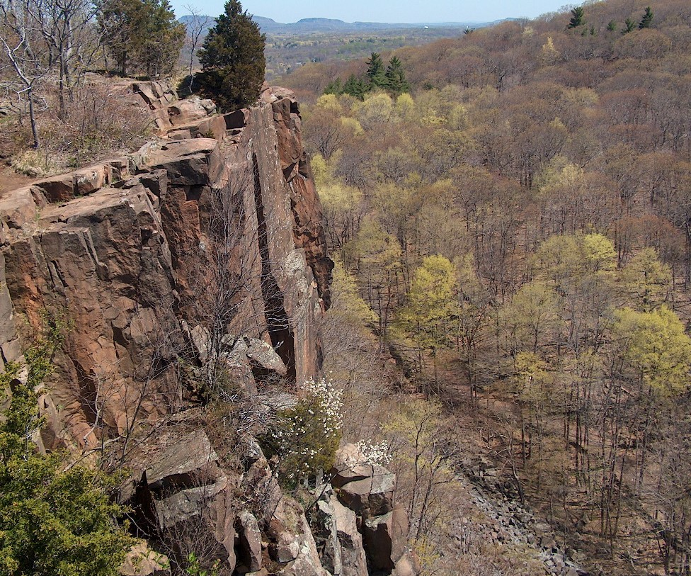 Sleeping Giant State Park, Hamden, Connecticut. (Wikimedia Photo)