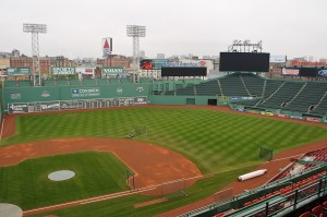 Fenway Park to host skiing and snowboarding competition