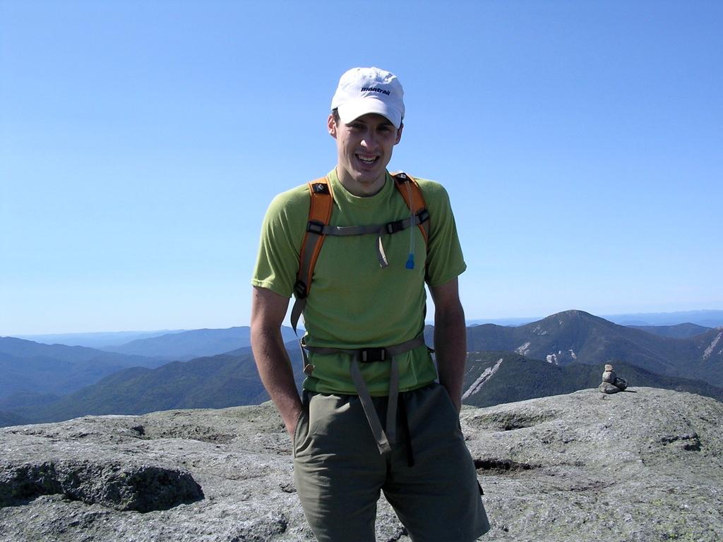 Runner Jan Wellford, of Keene Valley, New York.