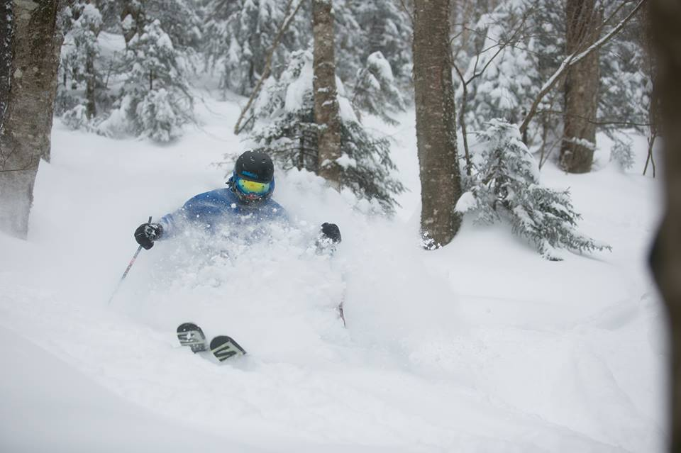 A skier at Vermont's Killington Resort. (Killington Facebook Photo)
