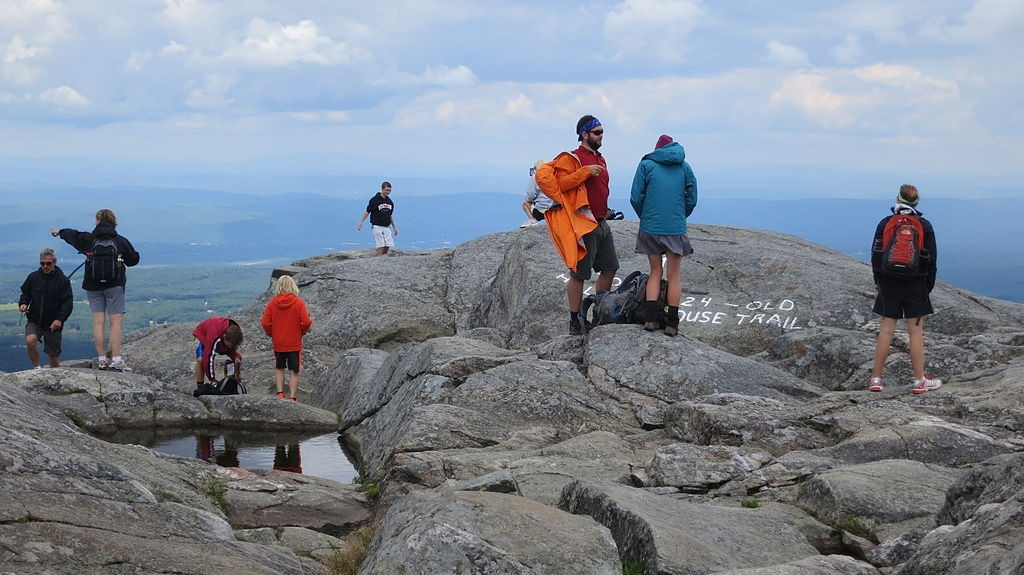 The summit of Mount Monadnock in New Hampshire. (Wikimedia Photo)