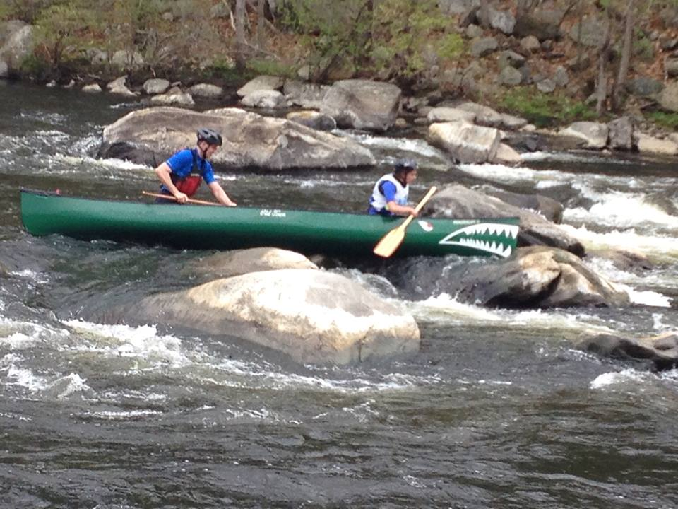 Paddlers negotiate rocky waters in Connecticut's Boateater Challenge. (Boateater Challenge Facebook Photo)
