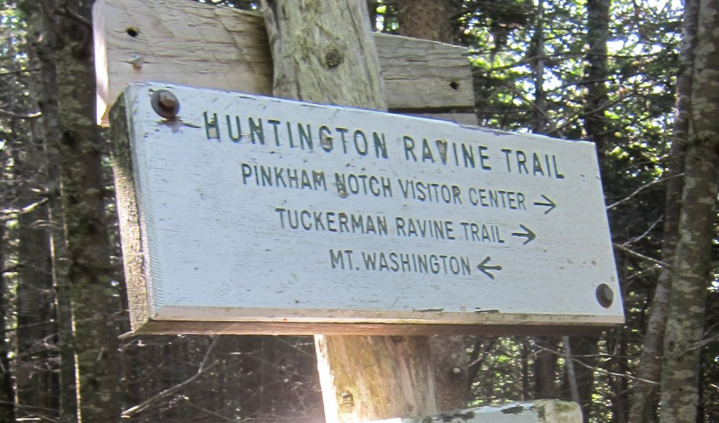 Huntington Ravine Trail