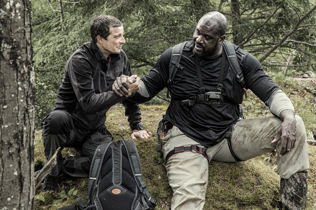 shaq bear grylls take on adirondack wilderness kind of