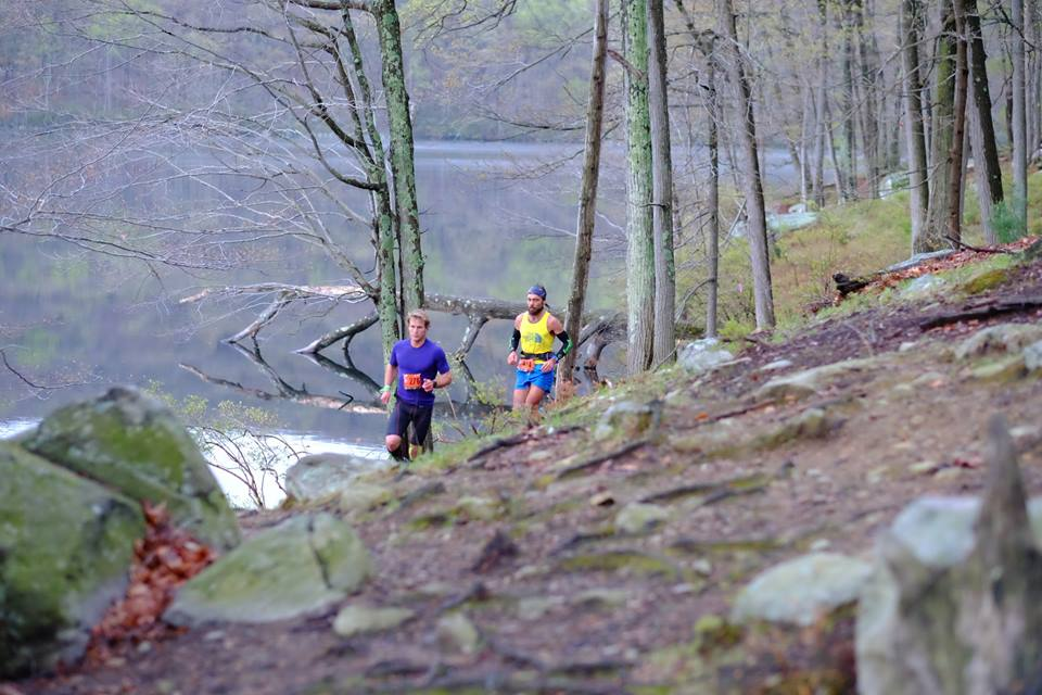 Runners on the trail at the North Face Endurance Challenge in New York in 2016. (North Face Endurance Challenge/Facebook Photo)
