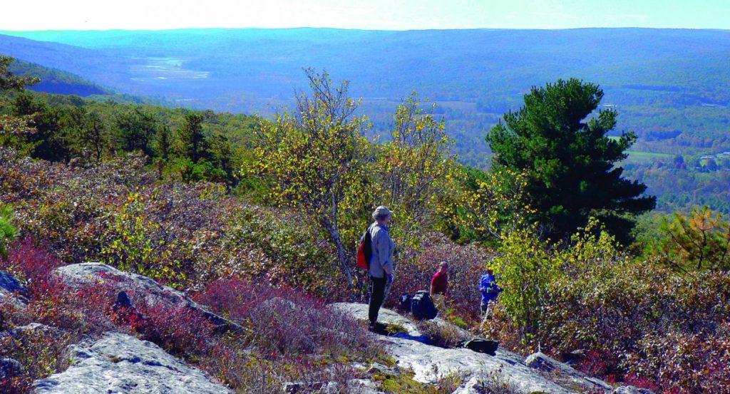 New York's Shawangunk Ridge. (NYNJTC.org Photo)