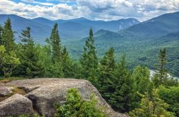 Mount Jo Adirondacks New York Sky
